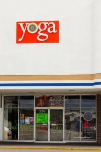The exterior of Pulsation Yoga in Lake Zurich